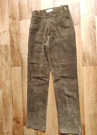 Шкіряні штани жіночі Esprit
