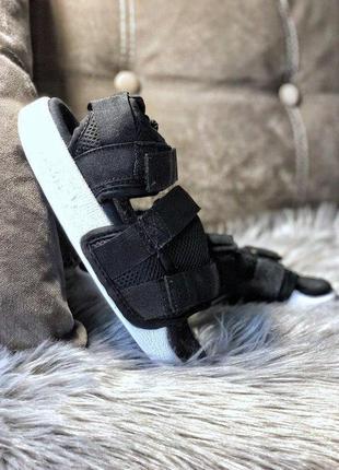 Шикарные сандали/ босоножки на платформе adidas adilette black...