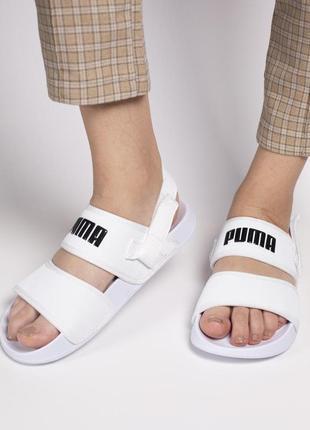 Шикарные женские сандали/ босоножки на платформе puma sandal w...