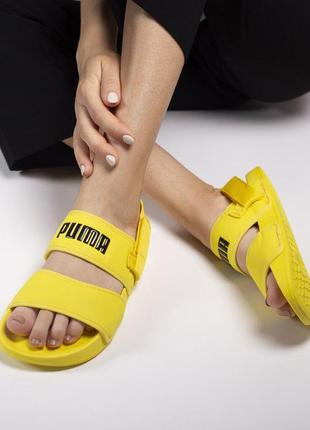 Шикарные женские сандали/ босоножки на платформе puma sandal y...