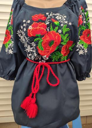 Вышиванка, блузка женская