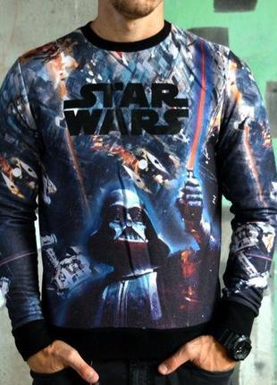 "Шикарный мужской свитшот/ кофта cedarwood state ""star wars""😍"