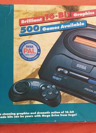 Sega Mega Drive 2 90-е (Денди)