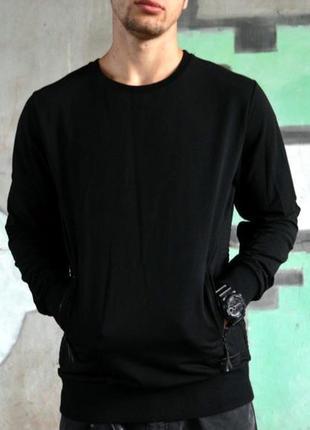 Шикарный мужской свитшот/ кофта pure white с карманами 😍