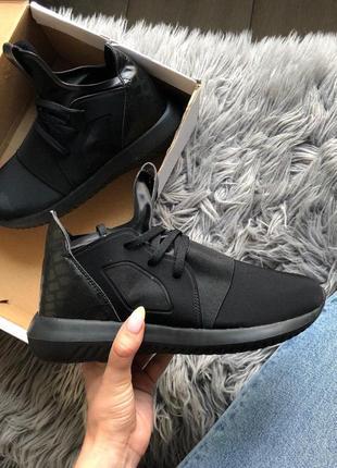 Акция! женские кроссовки adidas tubular defiant black 😍 (весна...