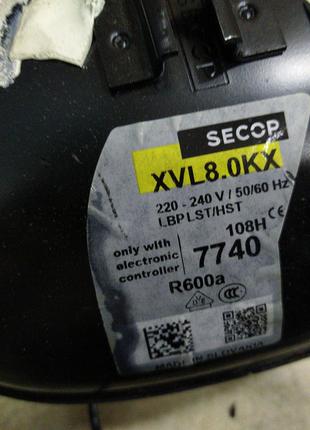 Secop XLV8.0KX инверторный компрессор, блок управления 105N5342