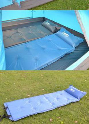 173 см Самонадувающийся туристический  спальный коврик матра...