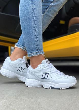 Шикарные женские белые  кроссовки new balance 608 v1 white 😍 (...