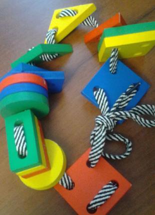 Игра-шнуровка