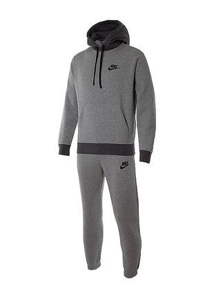 Мужской спортивный костюм Nike M NSW CE FLC TRK SUIT BASIC