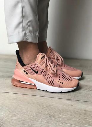 Шикарные женские кроссовки nike air max 270 pink 😍 {весна/ лет...