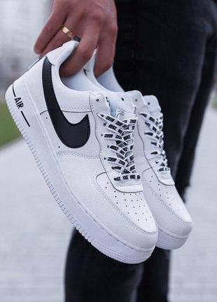 Шикарные мужские кроссовки nike air force 1 white 😍 (весна/ ле...