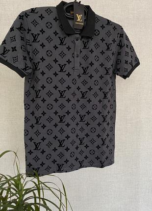 Мужское поло Louis Vuitton