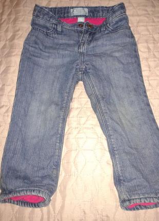 Супер джинсы на флисовой подкладке