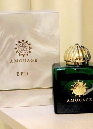 Amouage Epic Woman Оригинал EDP  3 мл Затест_парф.вода