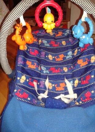 Детское кресло-шезлонг-качалка