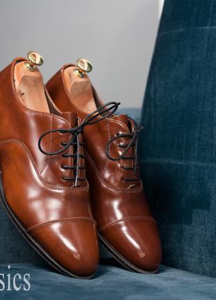 Оксфорды Town Classics, Чехословакия 43р мужские туфли кожа