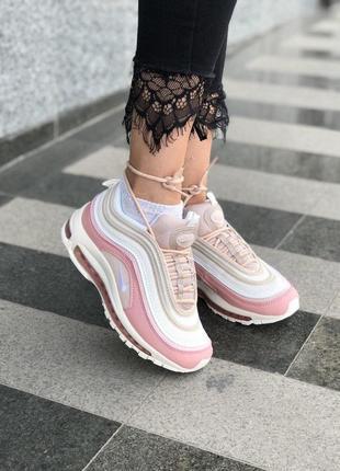 Шикарные женские кроссовки nike air max 97 pink reflective 😍...