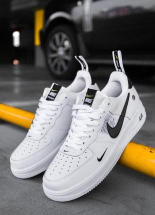 Шикарные кроссовки nike air force 1'07lv8 ultra white унисекс ...