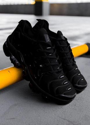 Шикарные кроссовки nike air vapormax plus 'black'    унисекс 😍...
