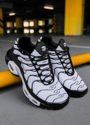 Шикарные мужские кроссовки nike air max plus tn white/black 😍 ...