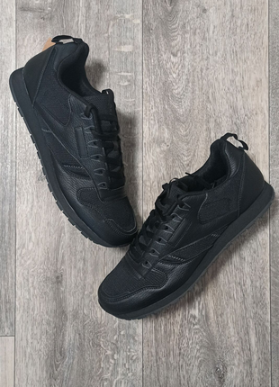 Мужские кроссовки чёрные