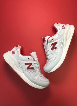 Шикарные женские кроссовки new balance 530 encap white red 😍 (...