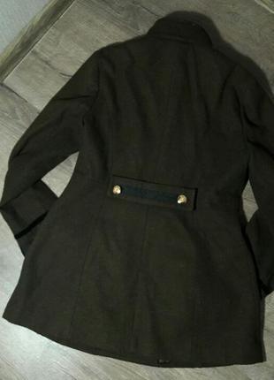 Шерстяное пальто в гусарском стиле DEBENHAMS