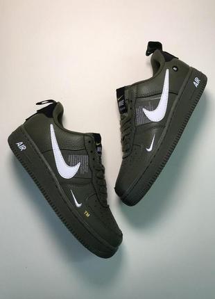 Шикарные женские кроссовки nike air force 1 low green 😍 (весна...