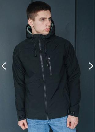 Куртка staff soft shell lak black