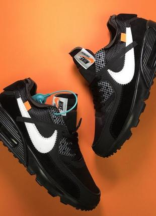 Шикарные мужские кроссовки nike aair max 90 off-white black 😍 ...