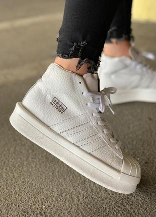 Шикарные женские кроссовки adidas x rick owens triple white 😍 ...