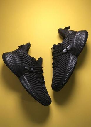 Шикарные кроссовки adidas alphabounce instinkt black унисекс 😍...