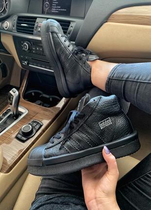 Шикарные кроссовки adidas x rick owens triple black унисекс 😍 ...
