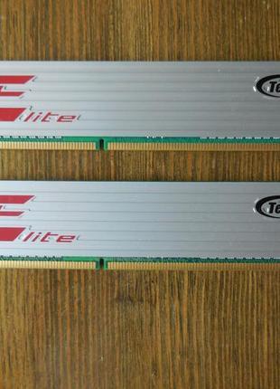 Оперативная память Team Elite DDR3 4Gb(2*2Gb)