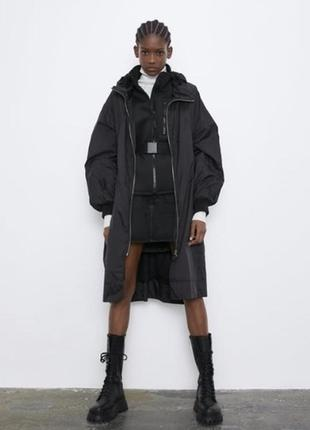 Складной  плащ/дождевик/куртка zara (оверсайз)