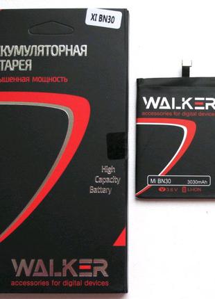 Аккумулятор (Батарея) WALKER Xiaomi BN30/Redmi 4A