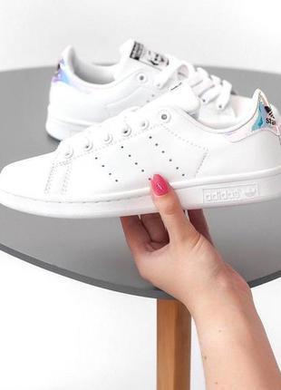 Шикарные женские кроссовки adidas stan smith white 😍 (весна/ л...