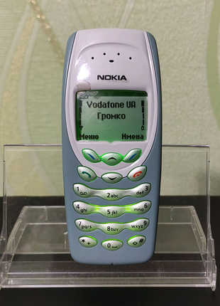Мобильный телефон Nokia 3410 (Как новый)