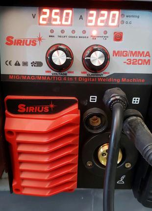 Сварочный полуавтомат siriùs mig mma tig mag 320