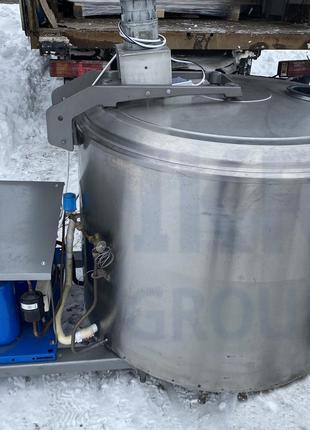 Танк охолоджувач молока, води, соку 500 літрів Alfa Laval, De