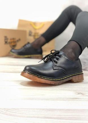 Шикарные туфли dr. martens black унисекс 😍 {весна/ лето/ осень}