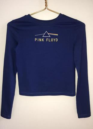 Стильный укороченый  джемпер pink floyd
