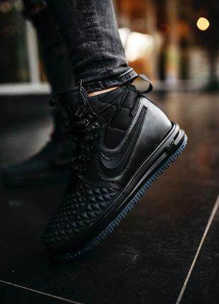 Мужские кроссовки nike lunar force 1 duckboot '17 gs black 😍 (...
