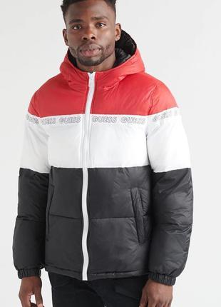 Мужская куртка guess новая l p  polo