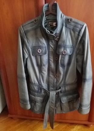 Кожаная куртка, куртка из натуральной кожи