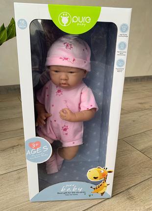 Пупс реалистичный Pure Baby, 45 см