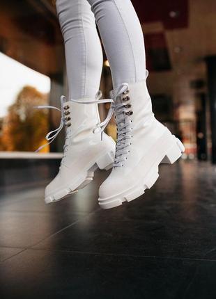 Шикарные женские хайповые осенние ботинки на платформе both ga...