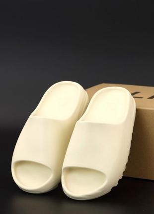 👟 шлепки мужские adidas yeezy slides (арт. 12490) 👟