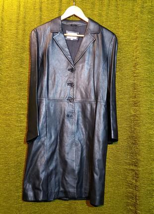 Плащ Marks & Spencer (Germany) женский кожаный